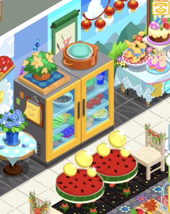 Click image for larger version.  Name:Refrigerator & Watermelon Tables.jpg Views:0 Size:95.0 KB ID:59801