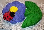 Click image for larger version.  Name:LadyBugSpring_Flower_Cake1.jpg Views:9 Size:20.8 KB ID:12534
